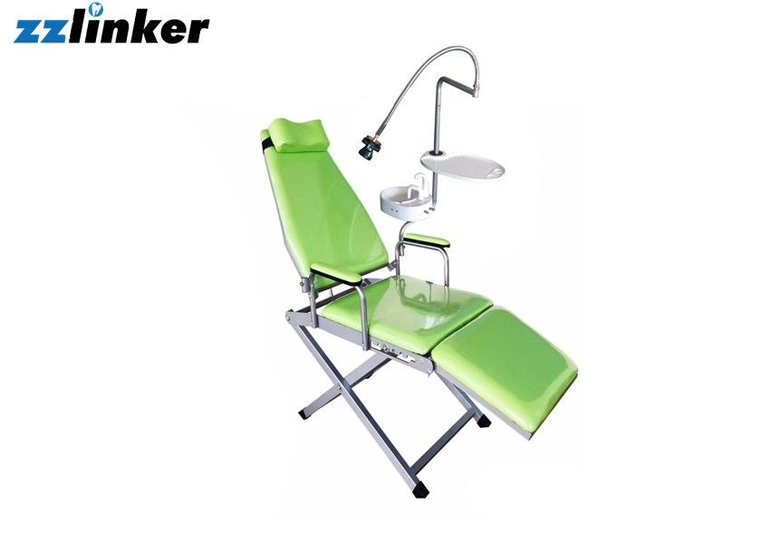 Colorful Dental Chair Unit Portable Patient Chair With Spittoon Lamp And Tray